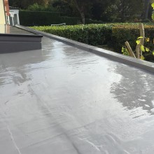 Hydrostop Liquid Rubber water proofing system in Birchington / Kent.JPG